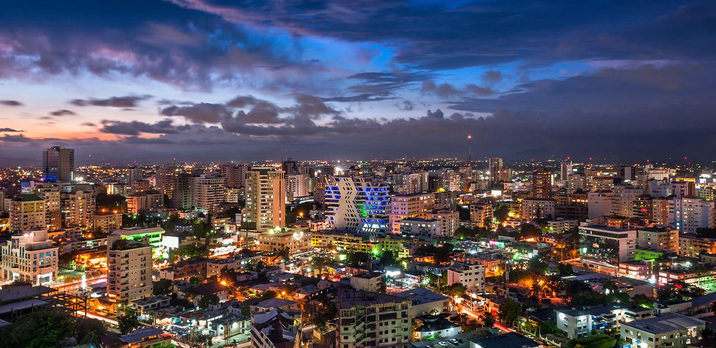 Santo Domingo nocturno
