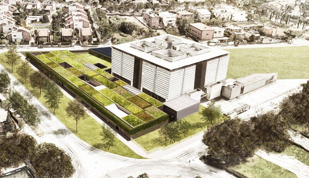 concurso archivo de cataluña mención selecionado sostenible nzeb