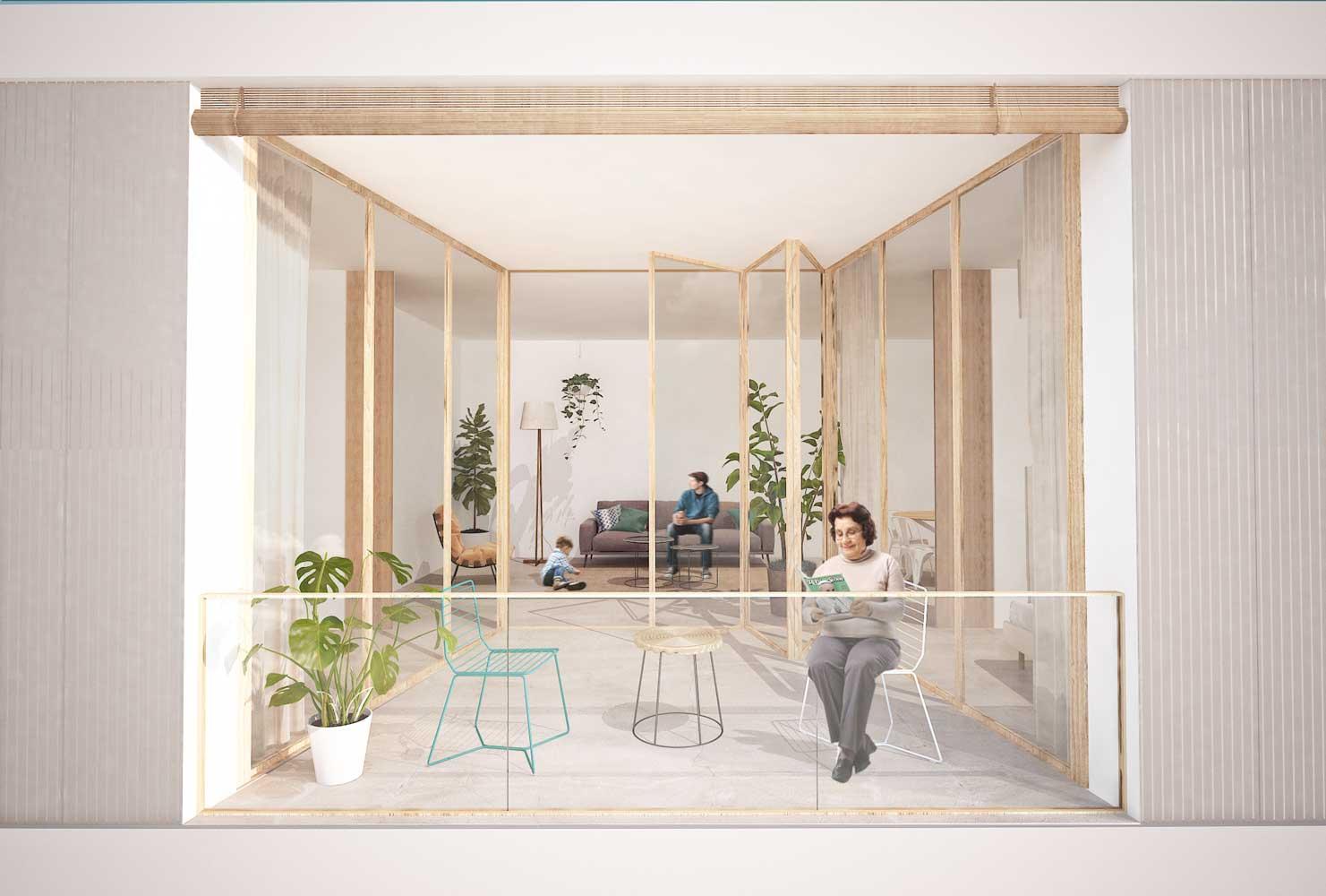 concurso vivienda protegida masnou sostenible arquitopia