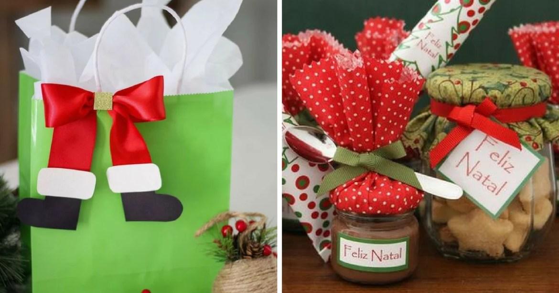 Presentes natalinos para os colaboradores