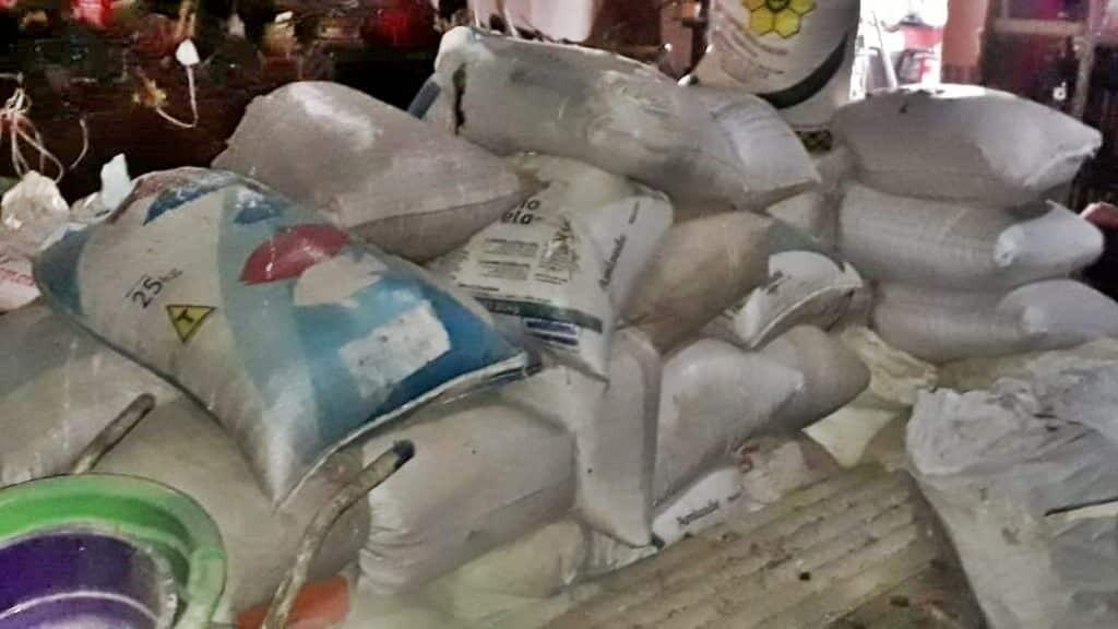 """Polícia Ambiental descobre depósito de produtos de """"vazada"""" e prende idoso por receptação 8"""
