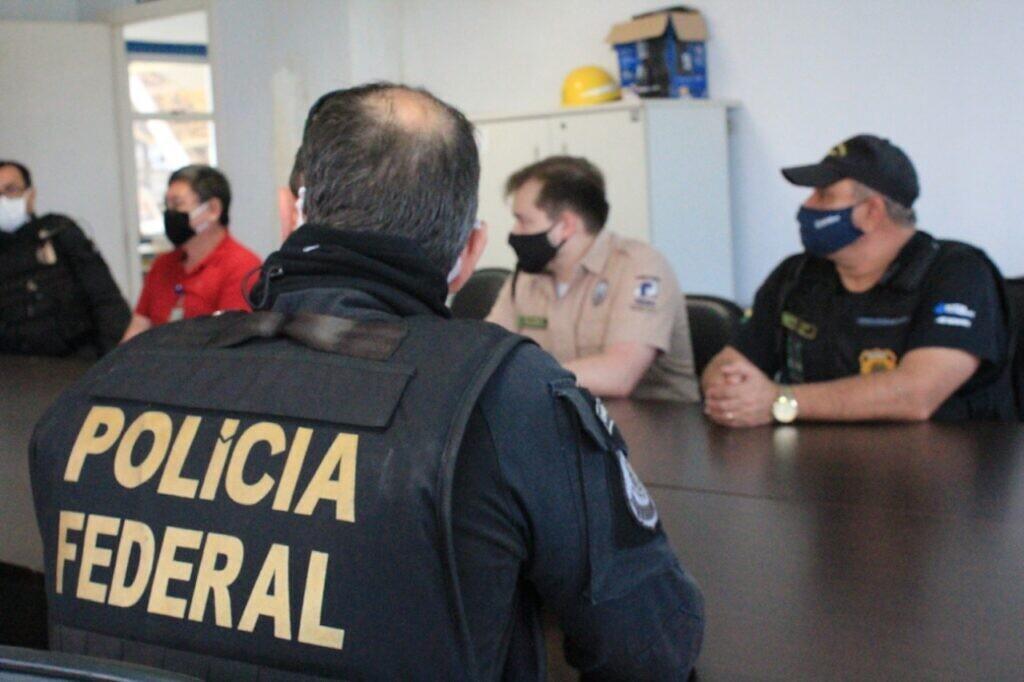 PF realiza simulado para atestar segurança nos portos de Paranaguá, Itajaí e Santos 3