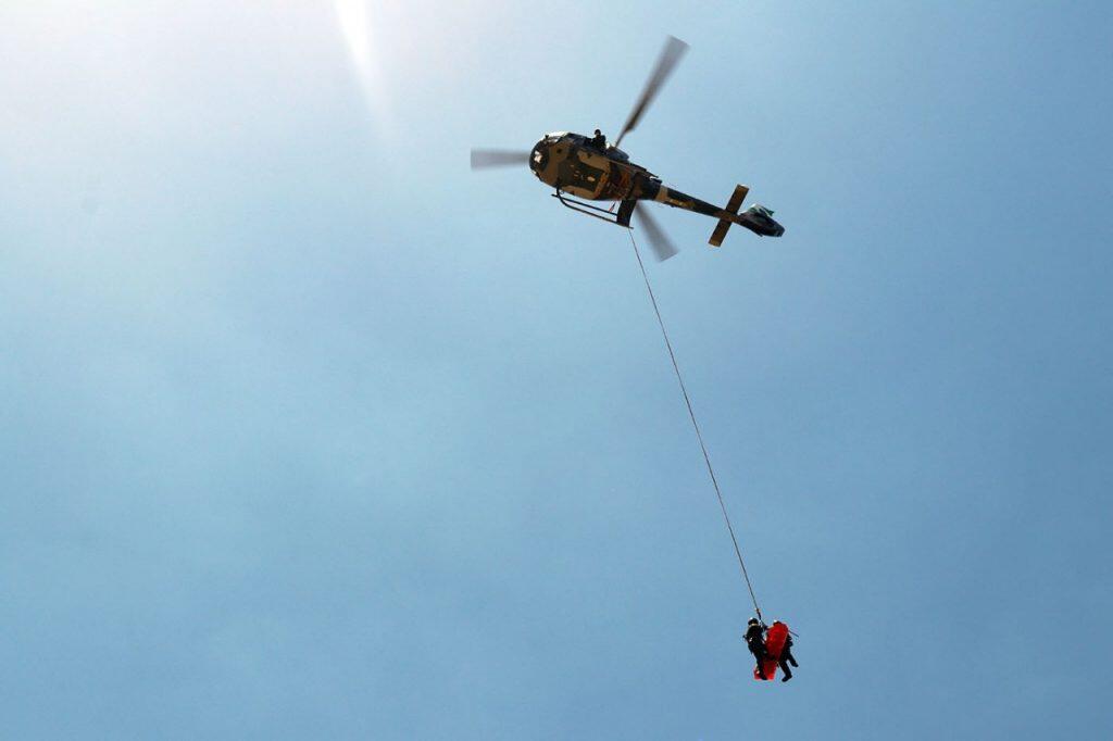 Batalhão de operações aéreas atende vítimas de afogamentos e acidentes 3