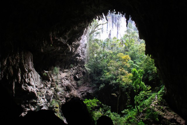 Entrada da Caverna Temimina, PETAR. Foto: Evandro Monteiro