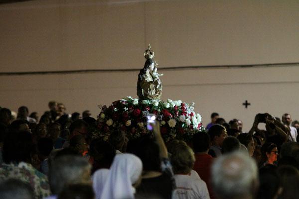 Procissão de encerramento volta a percorrer as ruas do Centro com a imagem de Nossa Senhora da Apresentação