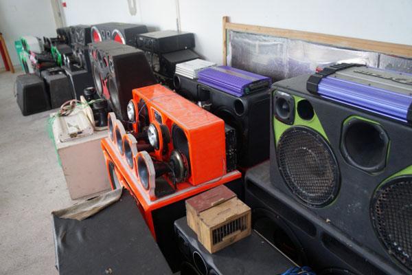 Fiscalização apreendeu 16 paredões de som durante o final de semana