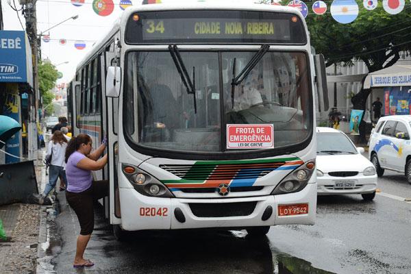 Por decisão unânime dos motoristas e cobradores, natalense corre risco de ficar sem transporte coletivo durante o dia hoje