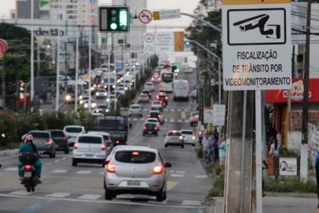 A Avenida Salgado Filho já possui equipamentos de videomonitoramento, mas as filmagens não eram usadas para fins de autuações
