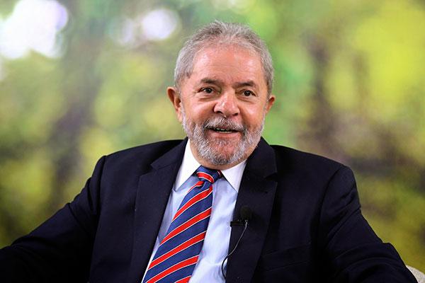 Ex-presidente Lula tem 56 por cento de intenções de voto no RN