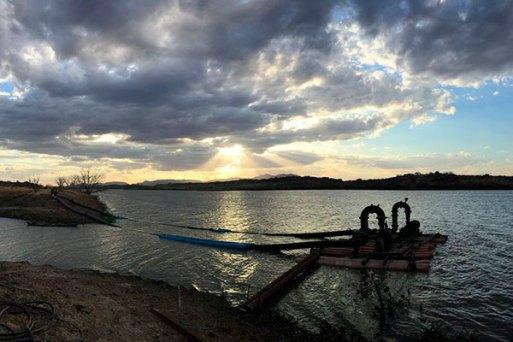 Com as chuvas dos últimos dias de fevereiro e do final de semana no Rio Grande do Norte e Paraíba, Barragem do Açu passou a acumular 284 milhões de metros cúbicos