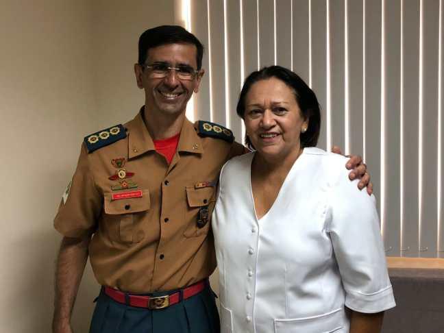 Coronel Monteiro aceitou o convite de Fátima Bezerra