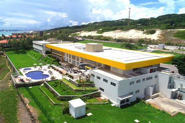 Resultado de imagem para novo Complexo Hotel-Escola Senac Barreira Roxa