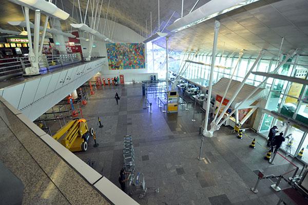 Primeira estrutura do projeto prevê o aproveitamento do antigo terminal de passageiros do aeroporto