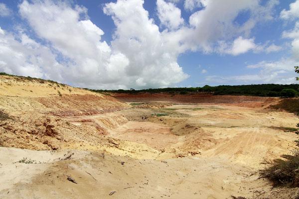 Área da APA de Jenipabu estava sendo explorada pela JC de Oliveira por força de uma decisão judicial