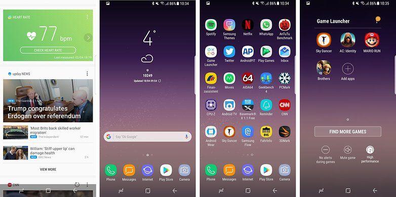 Baixe os principais aplicativos do Samsung Galaxy S8 1