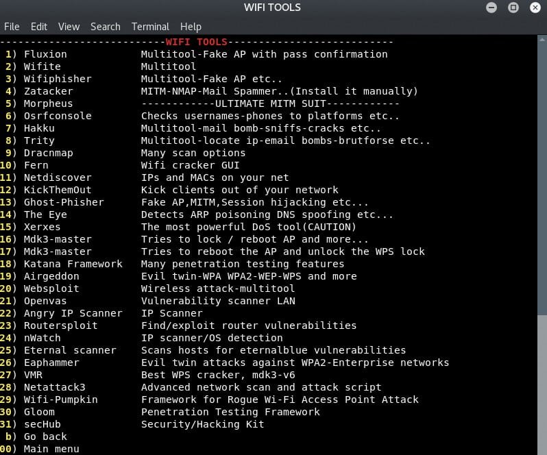 LAZY: Kit ferramentas automáticas para Pentest em redes Wifi 2