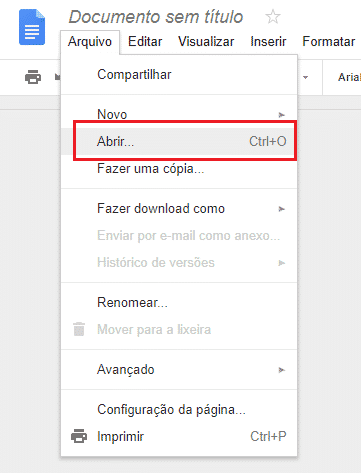 Como abrir um documento do Word e Excel online no computador 3