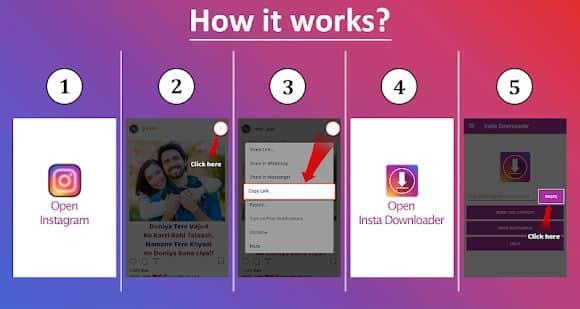 Insta Downloader: Baixar fotos e vídeos do Instagram 1