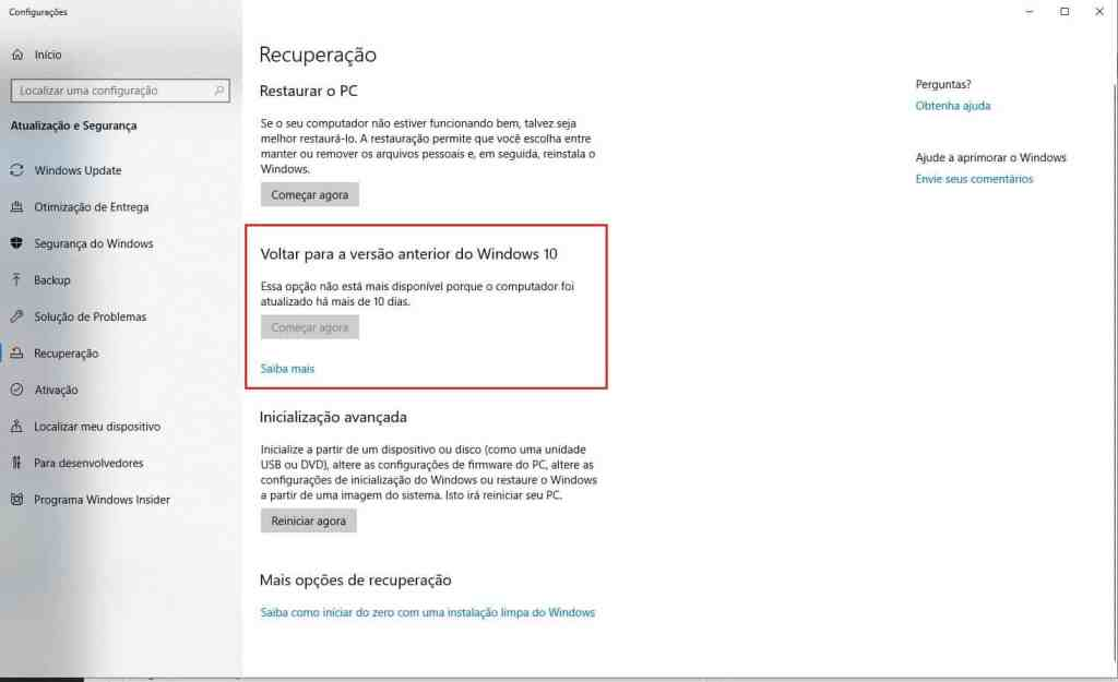 Windows Update: Corrigir erros de atualização Windows 10 6