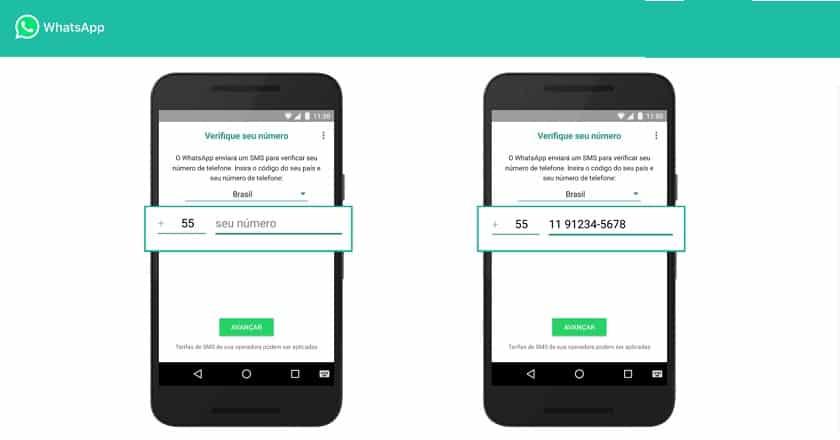5 sites número virtual grátis para WhatsApp e verificar SMS 1