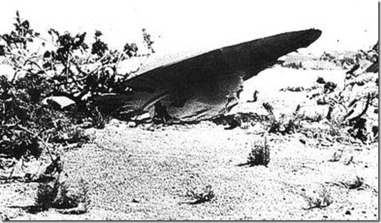 ufo queda thumb Piloto relata um segundo 'Caso Roswell' nos EUA