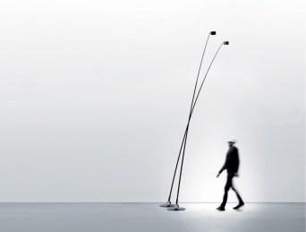 Luminária Sampei, da marca italiana Davide Groppi, disponível nas versões indoor e outdoor, exclusiva na FAS Iluminação.