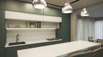 Topzstone Suggar é ideal para um design de interiores clean.
