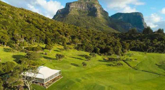 Lord Howe Island golf course