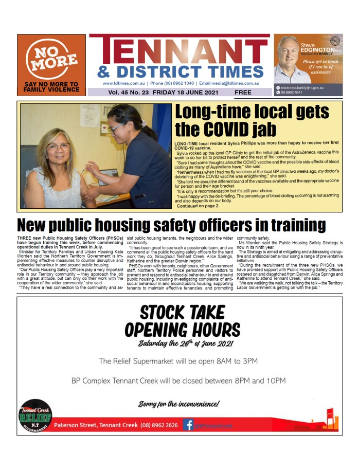 Tennant & District Times 18 June 2021