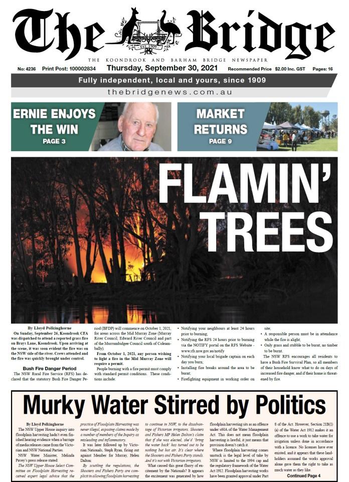The Koondrook and Barham Bridge Newspaper 30 September 2021