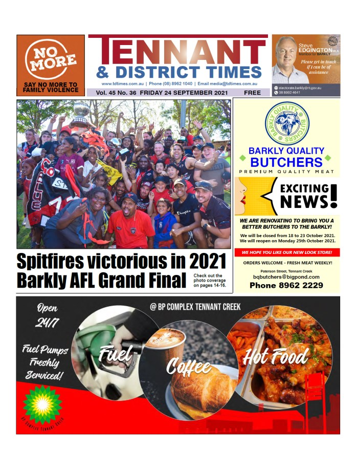 Tennant & District Times 24 September 2021