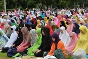 Sholat Idul Fitri di Malaysia