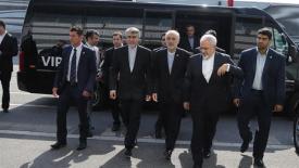 Menlu Zarif dan para delegasi Iran