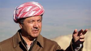 Pemimpin_Kurdi_Irak_Mosoud_Barzani