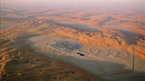 ladang minyak raksasa Saybah milik Saudi