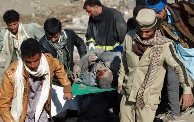 korban bom saudi di yaman