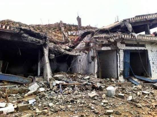 rumah sakit MSF yang di bom Saudi di Sa'ada, Yaman