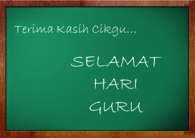 SELAMAT HARI GURU 2