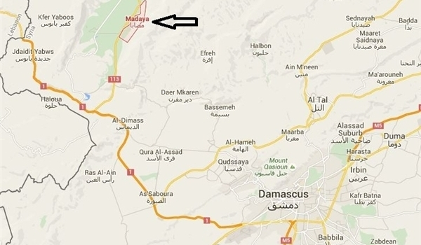 peta Madaya