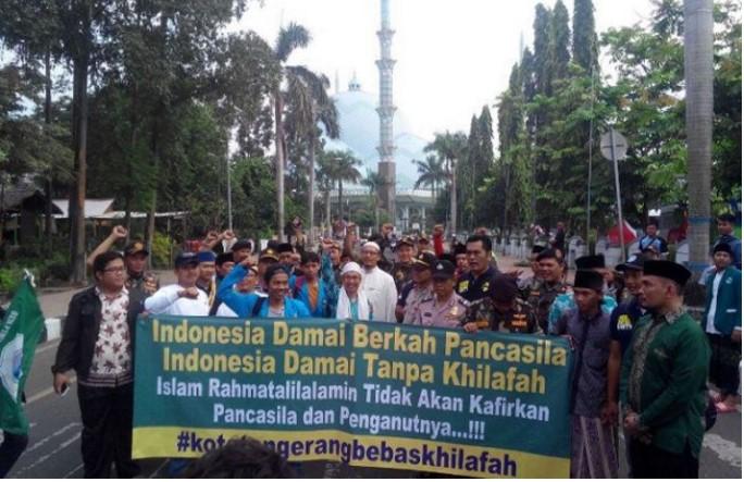 Tangerang Bebas Khilafah