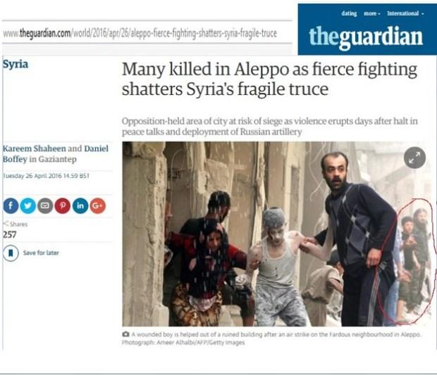The Guardian foto Aleppo