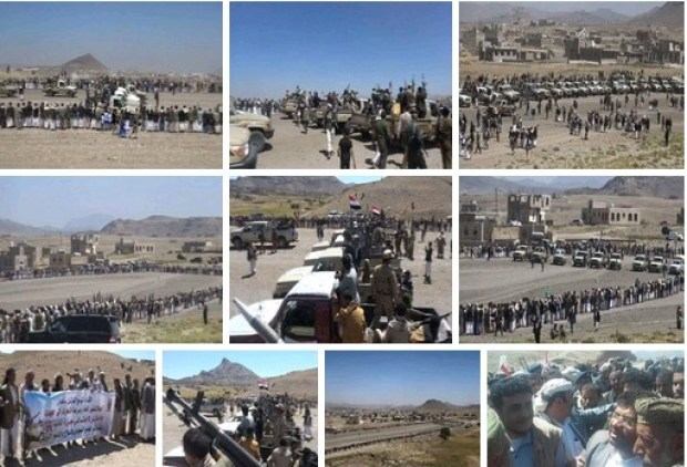 mobilisasi besar-besaran suku sanhan