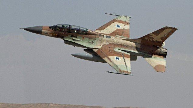 Israeli-F16-jet