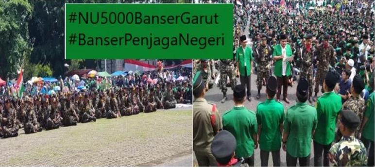 Gus Yaqut di Garut: Kami #BanserPenjagaNegeri