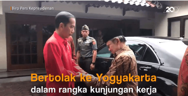 Momen Haru! Jokowi Berikan Tumpangan BJ Habibie Pulang ke Rumah : Video