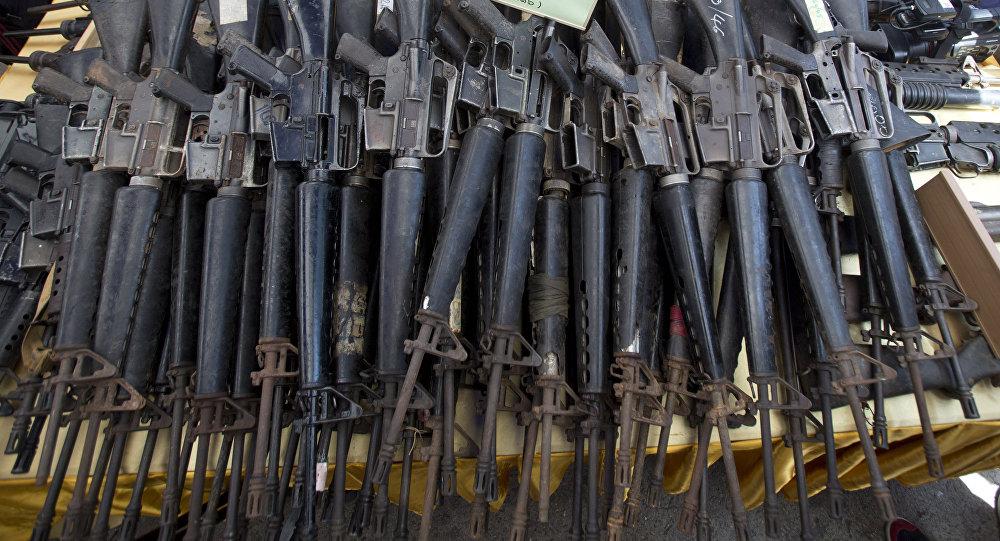 Investigasi! Senjata AS Dijual di Situs Teroris Suriah