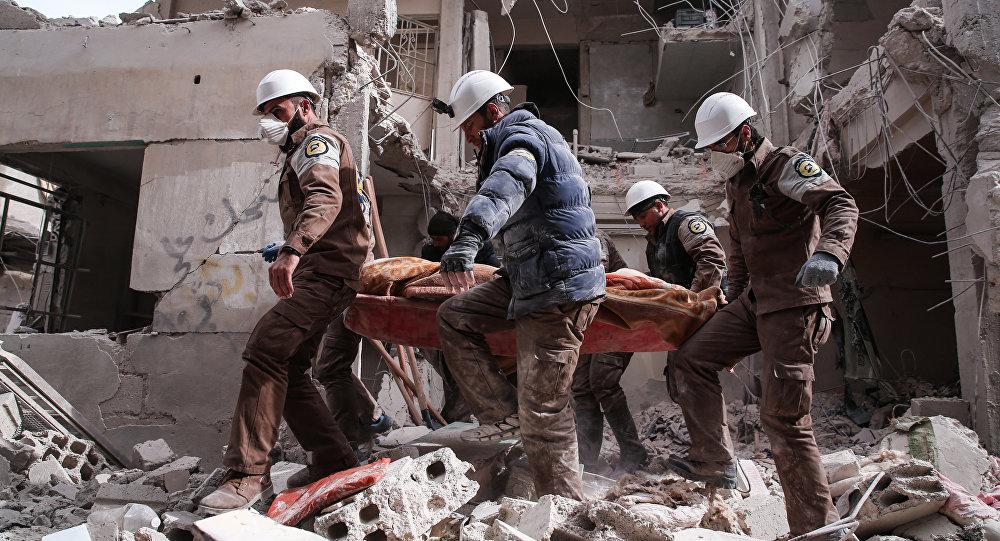 White Helmets Siapkan Serangan Kimia 'False Flag' di Ghouta Timur, Suriah