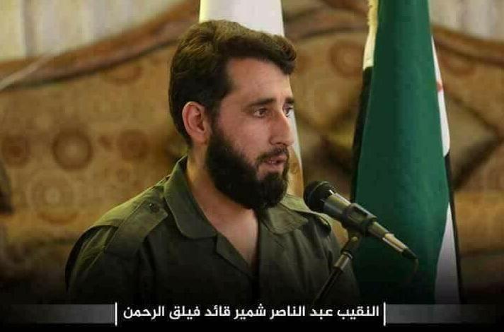 Breakingnews: Pemimpin Tertinggi Faylaq Al-Rahman Tertangkap di Ghouta