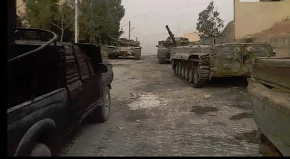 Tentara Suriah Cetak Kemenangan Penting di Dalam Ghouta Timur