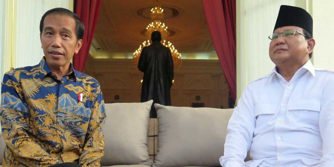 Ini Tanggapan Jokowi atas Pidato Prabowo yang Sebut RI Bubar 2030